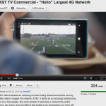 Suppose Viral Viral video in AT&T Commercial
