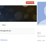 Faked Google Plus Account for Hello Commercial
